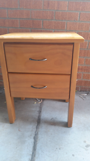 2 drawer cabinet solid pine Ainslie North Canberra Preview