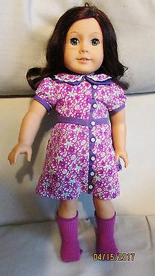 American Girl Doll Ruby with Blue Eyes & Brown Hair