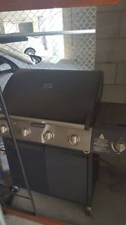 Jumbuck Black 4 Burner Hooded Barbecue with side burner Lutwyche Brisbane North East Preview
