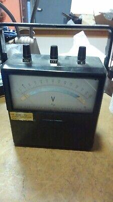Yokogawa Yew Type 2013. Portable Standard Ac Voltmeter Class 0.5 0-300 Volts