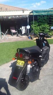 YAMAHA YW125cc Motorcycle