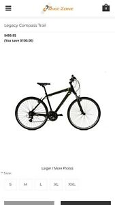 Brand New Legacy Compass bike for sale