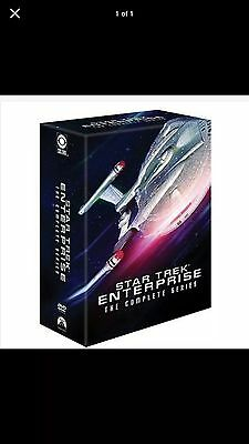 STAR TREK ENTERPRISE THE COMPLETE SERIES New Sealed 27 DVD Set Season 1 2 3 4