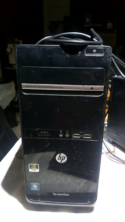 Hp desktop tower w/keyboard 2x mouse and Wi-Fi dongle Cranebrook Penrith Area Preview