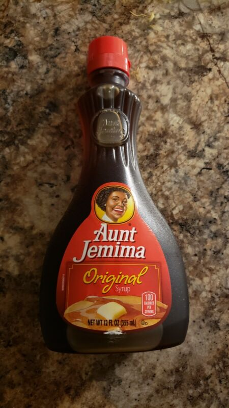 Aunt Syrup RARE discontinued bottle
