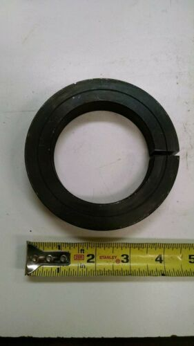 """3"""" ID x 4-1/2"""" OD Single Split Steel Shaft Set Locking Collar Black Oxide New"""