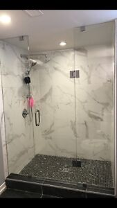CUSTOM SHOWER GLASS DOORS ENCLOSURES RAILING STAIRS DECKS ETC.