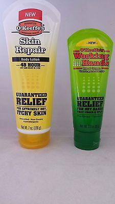 Okeeffes Skin Repair Tube And Okeeffees Working Hands Tube