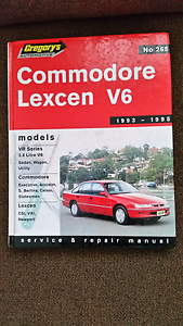 Holden Commodore /Toyota Lexen V6 Workshop Manual  1993 to 1995 Rochedale South Brisbane South East Preview