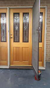 Stain glass door and suround Cranbourne West Casey Area Preview