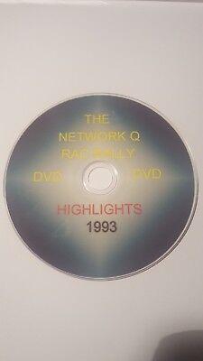 RALLY CAR DVD>>NETWORK Q  RAC RALLY HIGHLIGHTS 1993-DVD