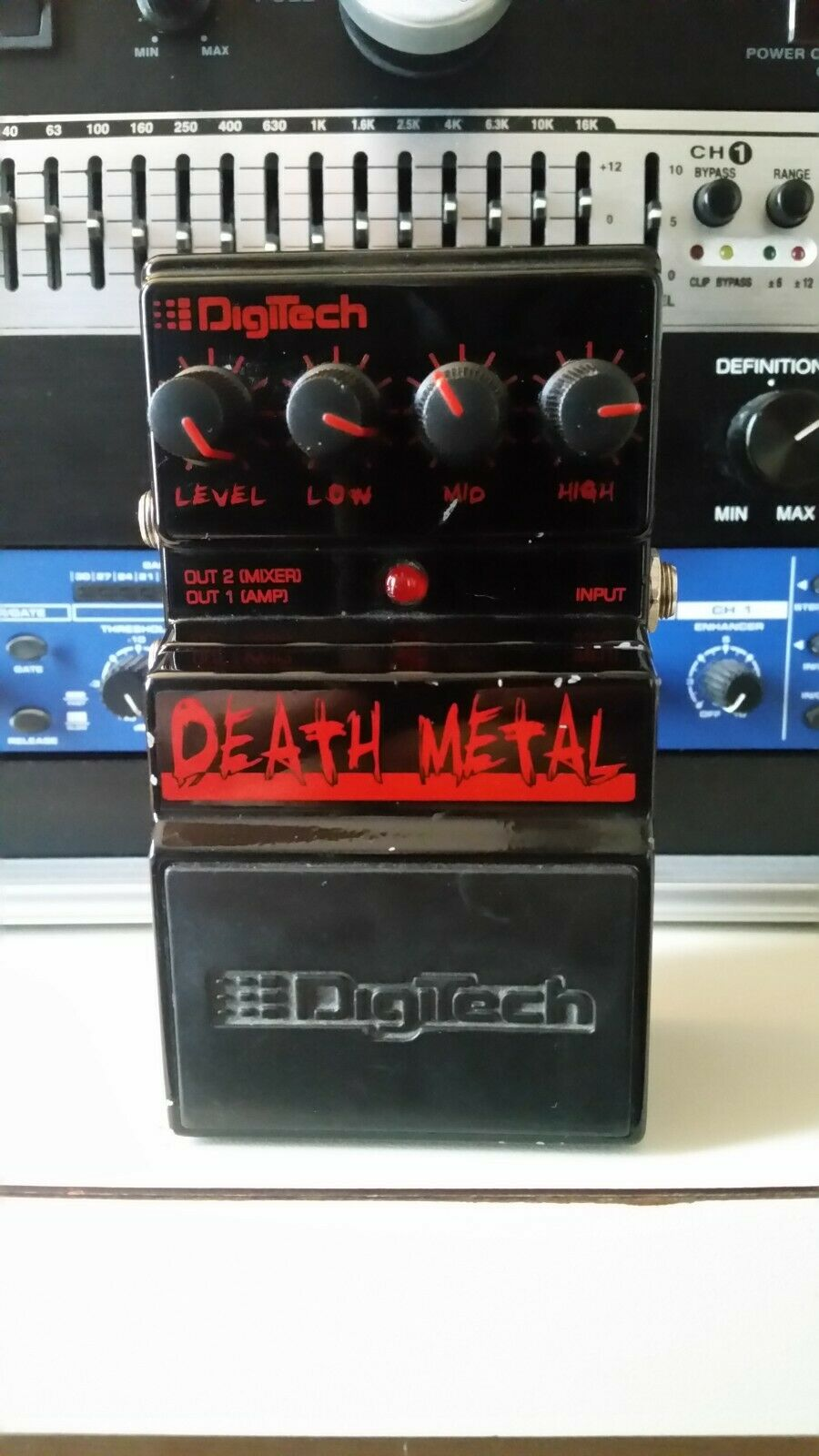 Digitech Death Metal Distortion Guitar Effect Pedal Free Shipping  - $49.99