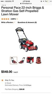 cash$$ paid for you mower or trimmer