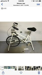 EXERCISE BICYCLE FOR SALE $30 .  00