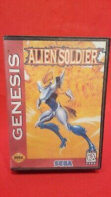 SEGA MEGA DRIVE    Alien  Soldier # ORIGINAL SEGA # comprar usado  Enviando para Brazil