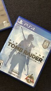 PS4 tomb raider video game