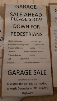 Garage sale nairne last day today