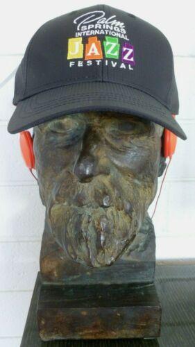 PALM SPRINGS INTERNATIONAL JAZZ FESTIVAL OFFICAL BASEBALL CAP BLACK ONE SIZE HAT