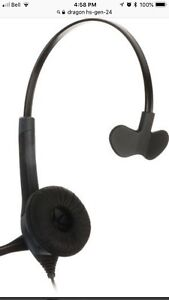 Dragon HS-GEN-24  USB Headset with Microphone