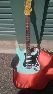 guitar electric and guitar bag for sale Port Lincoln Port Lincoln Area Preview