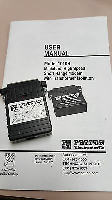 Patton 1010B MRJ11 High Speed Short Range Modem with transformer isolated ()