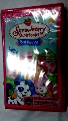 Strawberry Shortcake - Best Pets Yet (VHS,