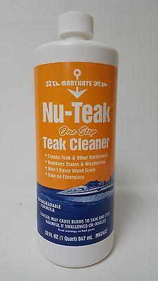 MARYKATE Nu Teak ONE Step Teak Cleaner Qt MK2432 32OZ.