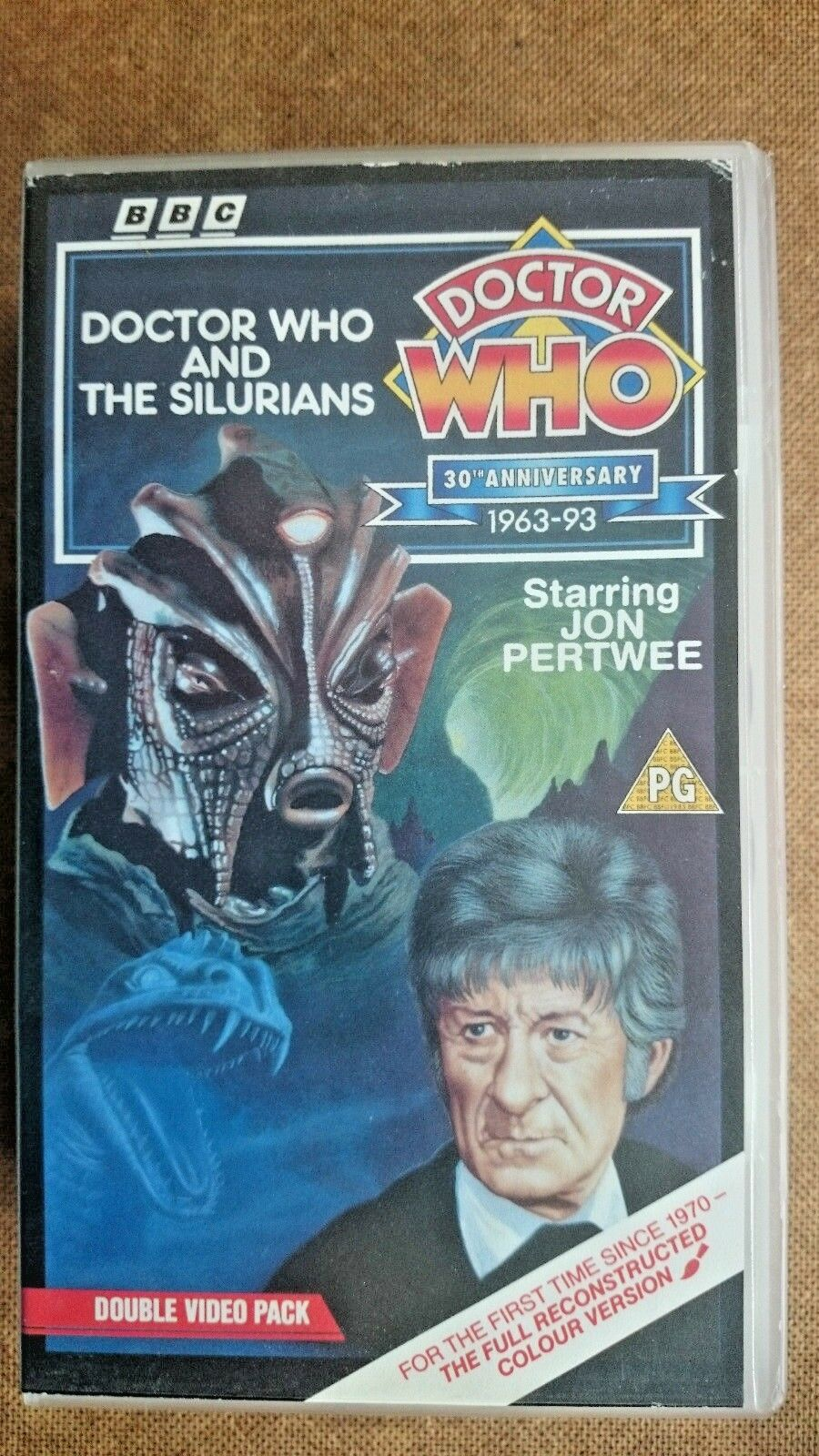 Doctor Who - Doctor Who And The Silurians (VHS/H, 1993) - Jon Pertwee