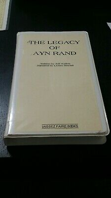 Legacy Of Ayn Rand Jeff Walker Laissez Faire Books book on cassette Objectivism ()