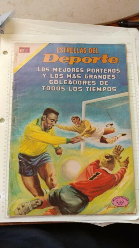 PELE 1970 comic book spanish, estrellas del Deport #70, soccer                s5