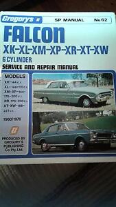 Classic Ford Falcon XK to XW (1960 TO 1970) Workshop Manual Brunswick West Moreland Area Preview