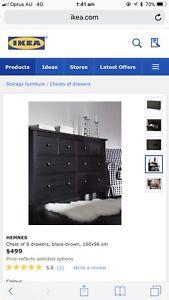 IKEA HEMNES bedroom suite