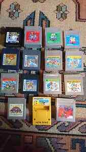 Gameboy games from Japan Magill Campbelltown Area Preview