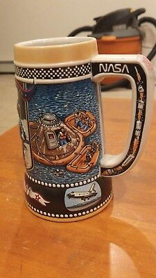 Miller 1990 Great American Achievements Beer Mug Stein 5th In Series #183548