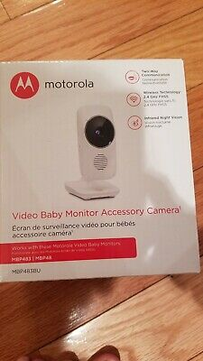 Baby Monitor two (2) VIDEO CAMERAS for Motorola MBP 483 or MPB 48 - NO Monitor