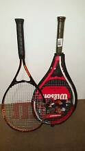 2 perfect wilson tennis rackets Bayswater Bayswater Area Preview