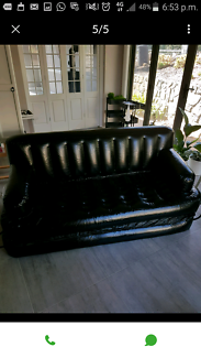 Double sofa bed inflatable