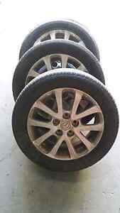 "Mazda 3 BK 16"" alloy wheels and tyres. Slacks Creek Logan Area Preview"