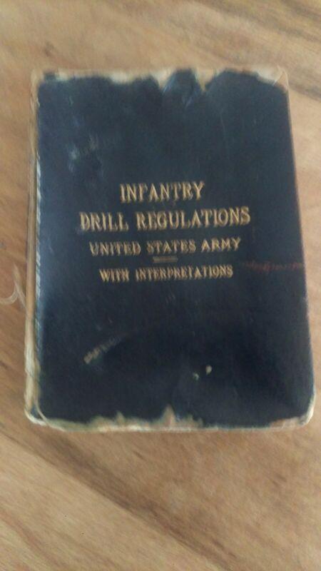 Infantry drill regulations 1891 original