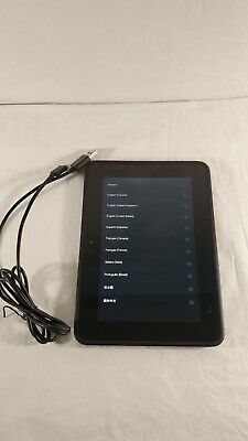 "Amazon Kindle Fire HD (X43Z60) WiFi 7"" 16GB Touchscreen Tablet TESTED WORKS"