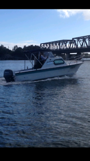 5.3m Half Cabin Fishing Boat For Sale or Swaps $8,500.