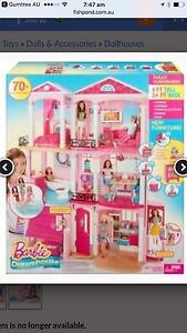Wtb barbie dream house in new condition Kellyville The Hills District Preview