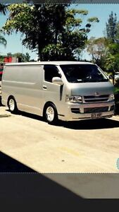 Toyota hiace 2007  swap for dual cab 4x4 Ashmore Gold Coast City Preview