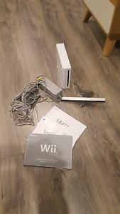 Wii console, power cord,sensor bar. Paralowie Salisbury Area Preview