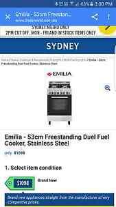 Emilia oven..gas burners, electronic oven Kings Cross Inner Sydney Preview