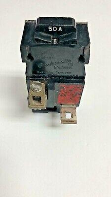Pushmatic 50 Amp Circuit Breaker