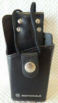 Motorola Hln9323a Leather Swivel Radio Case Holster P1225 Gp300 Gp350