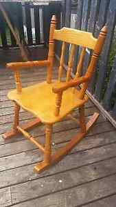 Handmade childrens rocking chair Katoomba Blue Mountains Preview