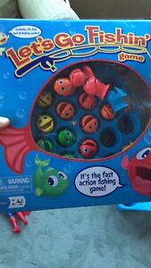 Kids Let's go fishing game