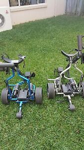 Golf trolleys electric x2 (remote controlled). Eight Mile Plains Brisbane South West Preview